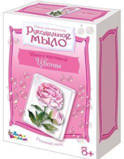 Набор для изгот. мыла с картинкой Розовый пион