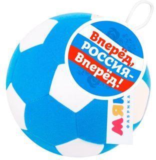 Мякиши Футбольный мяч син-бел