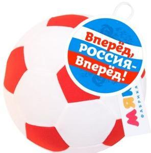 Мякиши Футбольный мяч бел-крас
