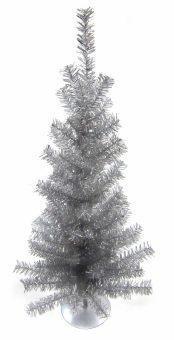 Елочка 45 см, серебро