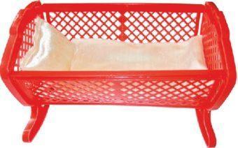Кроватка для кукол с постелькой №2