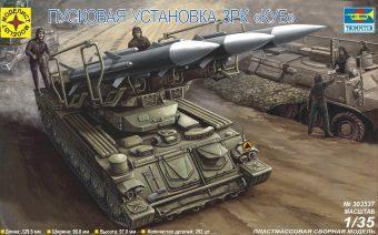 Модель Пусковая установка ЗРК КУБ (1:35)