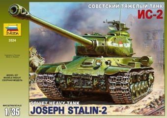 Модель ПН Советский танк Ис-2