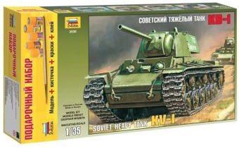 Модель ПН Советский танк КВ-1
