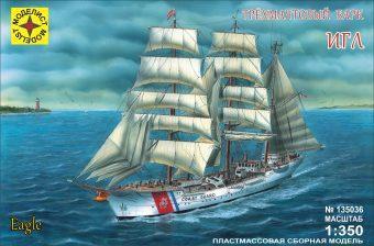 Модель Трехмачтовый барк Игл,1:350