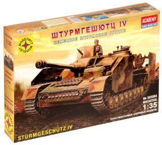 Модель танк Штурмгешютц IV (1:35)