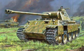 Модель Немецкий средний танк Т-V Пантера