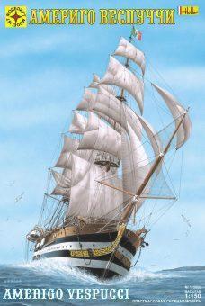 Модель корабль  Америго Веспуччи (1:150)