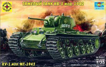 Модель танк Тяжелый танк КВ-1 мод.1942 г. (1:35)