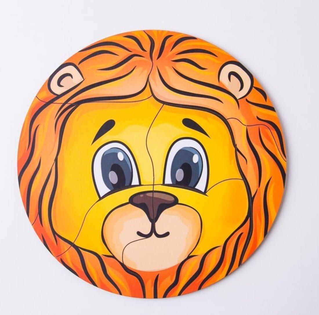 Пазл львёнок