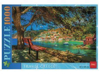 Пазлы 1000 А2ф 450х680мм Вспоминая Грецию...