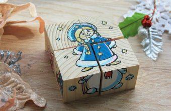 Подарок №1 Кубики (5 дет.)