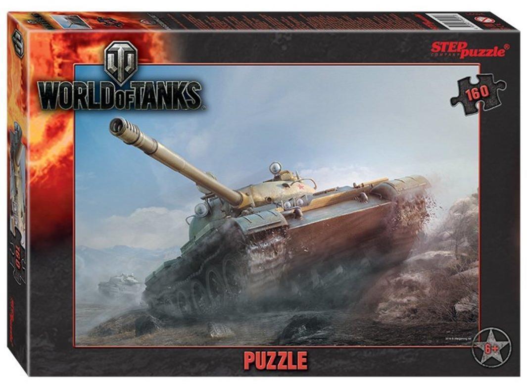 Пазлы 160 World of Tanks