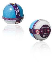 Жвачка для рук Nano gum, светится в темноте синим , 25 гр.