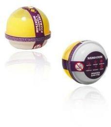 Жвачка для рук Nano gum, светится желтым , 25 гр.