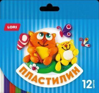 Пластилин Детский 12 цв., стек