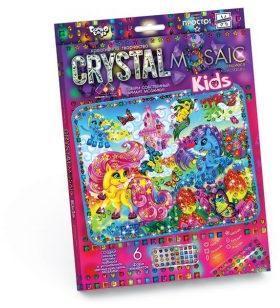 Набор креативного тв-ва Crystal Mosaic Kids Волшебные Пони