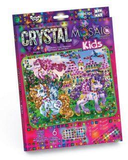 Набор креативного тв-ва Crystal Mosaic Kids Прекрасные Пони