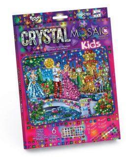 Набор креативного тв-ва Crystal Mosaic Kids Золушка