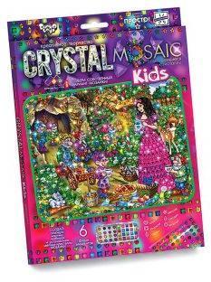 Набор креативного тв-ва Crystal Mosaic Kids Белоснежка