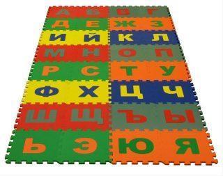 Коврик-пазл Русский Алфавит 32 дет (1 дет - 25*25 см)