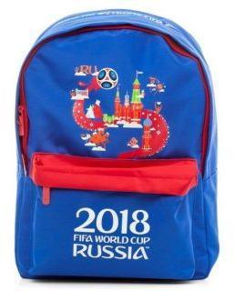 Рюкзак BASIC FIFA ЧМ ПО ФУТБОЛУ 2018 30Х41Х13 СМ полиэстер 1 отд 1 карман