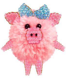Набор для тв-ва Фигурка из пряжи Маленькая свинка