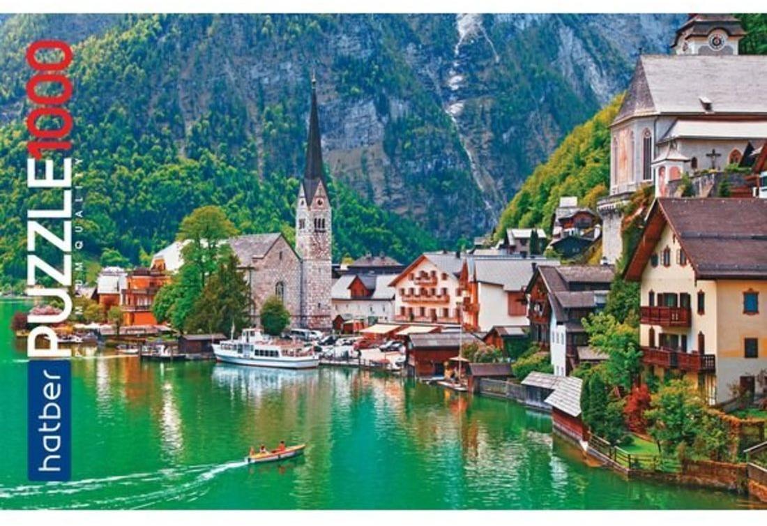 Пазлы 1000 А2ф 680х450мм Premium Сказка в Альпах