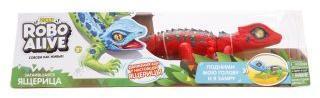 Игрушка Робо-ящерица красная