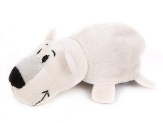 Мягкая игрушка Вывернушка 2в1 Хаски-Полярный медведь 12 см 07839d123953a