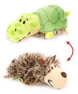 Мягкая игрушка Вывернушка 2в1 Еж-Черепаха 12 см