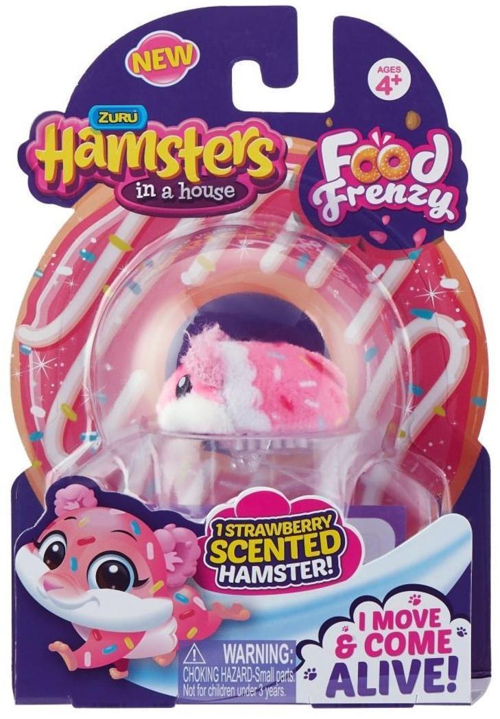 """Хомячок с ароматом ягоды """"Хома Дома"""" хомячок 5х3,2х3 см, размер упак 17х12х5,1, блистер"""