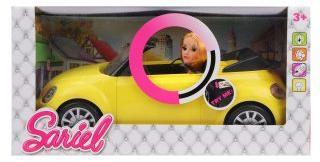 Кукла в кабриолете, свет, звук, бат.в компл.не вх., кор.
