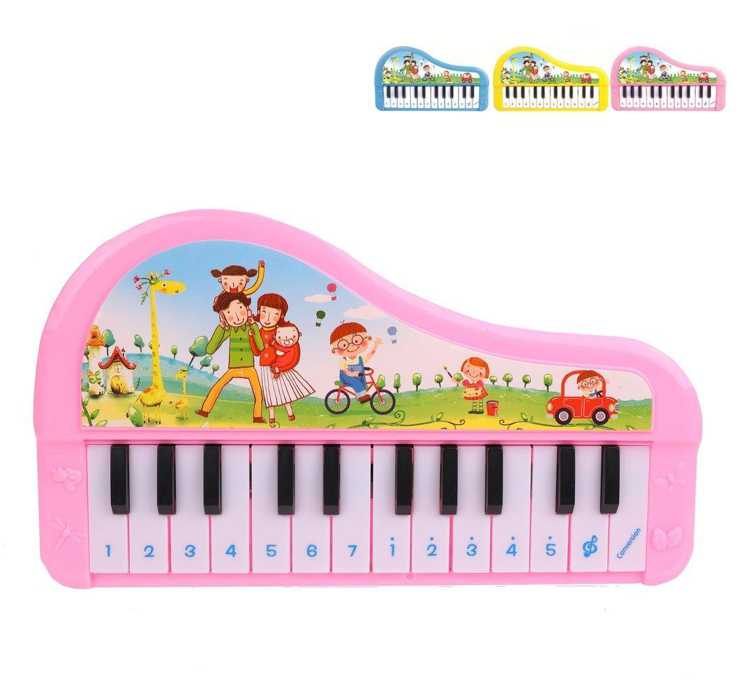 Орган детский 24 клавиши, в ассорт., бат.в компл.не вх., кор.
