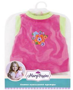 Одежда для куклы 38-43см, комбинезон Цветочек