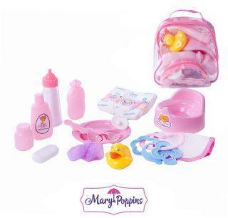 Набор аксессуаров для куклы  в сумке Уроки заботы.