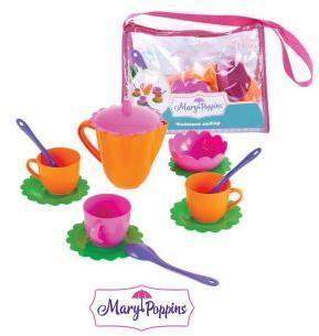 Чайный набор Цветок 13 пр в сумочке