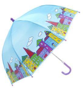 Зонт детский Домики, 46 см