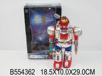 Робот эл. Уран Т3000, Властители, 29см, свет, звук, движение, коробка