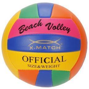 Мяч волейбольный X-Match, вспенен. PVC, камера резина, машин.обр.,в ассорт.
