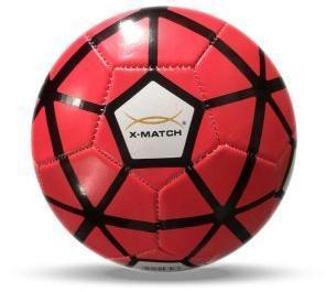 Мяч футбольный X-Match, 1 слой PVC, камера резина, машин.обр., в ассорт.
