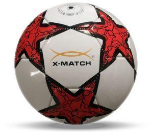 Мяч футбольный X-Match, 2 слоя PVC, камера резина, машин.обр.
