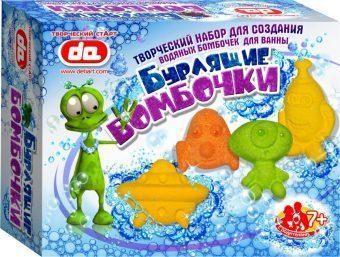 Набор Бурлящие бомбочки для ванны Инопланетяне