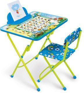 Набор мебели Веселая азбука (стол+стул мягкий+пен)