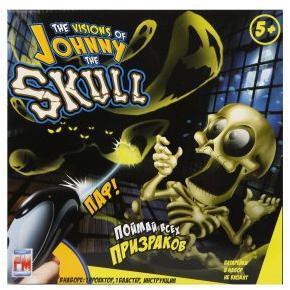 Игрушка Тир проекционный Джонни-Черепок с 1 бластером