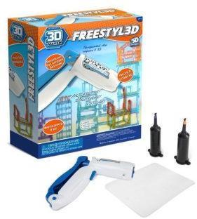 Ручка 3D для создания объемных моделей FreestylE 3D