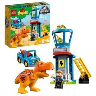 Констр-р LEGO Duplo Jurassic World Башня Ти-Рекса