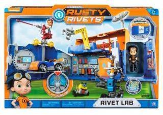 Rusty Rivets строительная лаборатория Расти