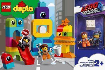 Констр-р LEGO DUPLO LEGO Movie 2 Пришельцы с планеты