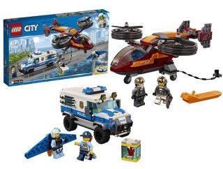 Констр-р LEGO City Police Воздушная полиция: кража бриллиантов